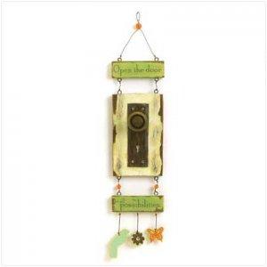 FOLK ART DOOR PLAQUE - 37760