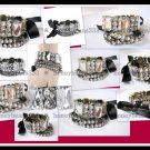 NEW Pretty Crystal Rhinestone Cuff Bangle Bracelet 057