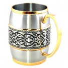 Edward Barrel Mug (Gold Trimmed) G2213