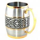 Edward Barrel Mug (Gold Trimmed) G2213