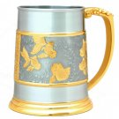 Gold Fish Tankard (Gold Trimmed - B) - G2219