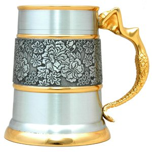 Yale Tankard (Gold Trimmed) - G2217