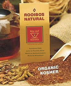 Organic Rooibos Tea with Madagascar Vanilla