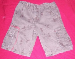 Boys ECKO UNLIMITED Shorts Brown 7 EUC SUMMER Cargo
