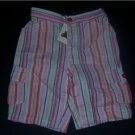 BABY GAP Striped Shorts Girl 12-18 Months NEW TODDLER