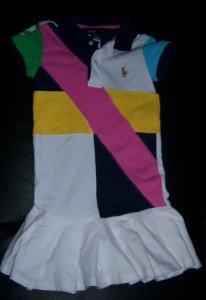 Girls RALPH LAUREN POLO Dress 5 EUC SUMMER FALL