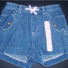 BABY GAP Girl Infant Toddler DENIM Shorts 12-18 Months
