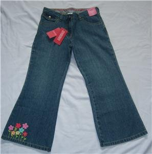 Gymboree SPRING RAINBOW Jeans NEW 10 PLUS BTS NWT FALL