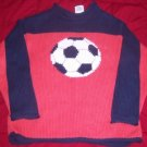 Boys TUMBLEWEED Sweater 6x 7 GUC SOCCER Used FALL