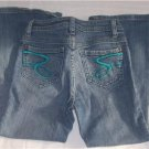 Girls 7 SEVEN Cropped Jeans 10 USED EUC STRETCH BTS
