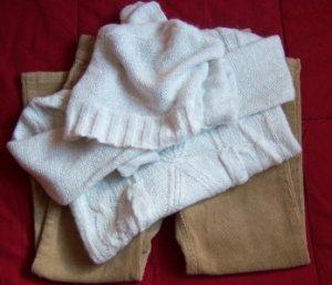 TCP The Children's Place CORDUROY Pants Sweater EUC 4