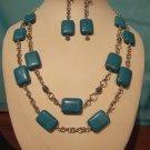 Necklace & Earrings Set Model DSCF1495
