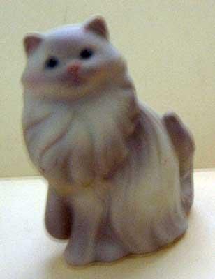 Cat Persian : Avon : Vintage : Mint : 1984