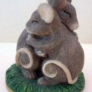 MICE Hugging Love Romance by Silvesytri Mouse Collectible