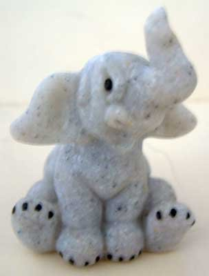 ELEPHANT #3 : Quarry Critter Mini : United Design Collectible