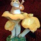 'Soap Star' Mouse Flower Figurine BFA Border Fine Arts