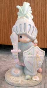 Precious Moments : Onward Christian Soldiers : Enesco Porcelain