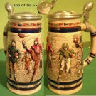 Football Avon Collector's Stein Raised Lid Design