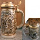 Goldrush Avon Collector's Stein Raised Lid Design