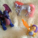 LOT Misc. Toys FANTASY Dragon Unicorn