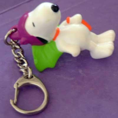 SNOOPY Dog Peanuts VAMPIRE Halloween Key Chain