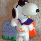 SNOOPY 'Joe Vampire' Halloween Holiday Ornament
