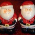Santa Claus Salt & Pepper Shakers NEW Christmas Holiday