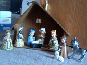 10 PC Nativity :: M.I. Hummel #413 :: TMK-5 & TMK-6