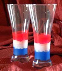 Americana Pilsner Glass Hand Painted Exclusive Design DW Safe!