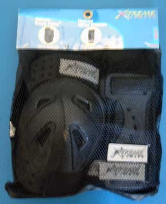 X-Treme Limits Deluxe Sport Knee Pads & Wrist Guards NIP