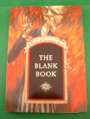 Lemony Snicket Collector's Blank Book - NEW - Stickers Included
