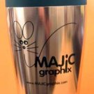 Travel Mug Insulated Coffee Tea Cup Copper Coated Retail $18.99