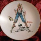 Norman Rockwell Collector Plate Danbury Mint 'Boy on Stilts'