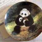 'The Panda' Wildlife Society LMT ED Collector Plate