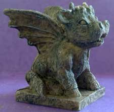 GARGOYLE or ANGEL COW Fantasy Gothic Goth NEW!