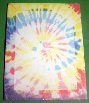 Designer Paper - Tye-Dye - 24 lb. Acid Free NIP 25 Sheets