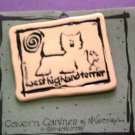 Westie Terrier Cavern Canine Dog Breed Stoneware Ceramic Clay Jewelry Pin McCartney - NEW