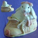 Shoe BUNNY GIRL Rabbit SILICONE Candle Soap Resin MOLD