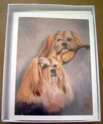 Lhasa Apso #3 Dog Notecards Envelopes Set - Maystead - NEW