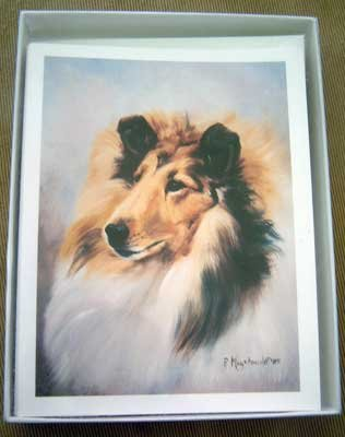 Collie #3 Dog Notecards Envelopes Set - Maystead - NEW