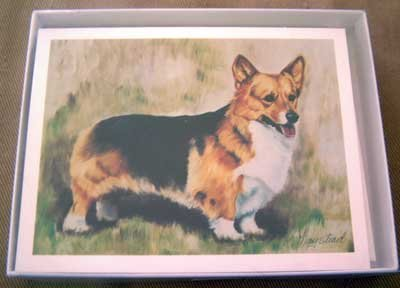 Welsh Corgi #5 Dog Notecards Envelopes Set - Maystead - NEW