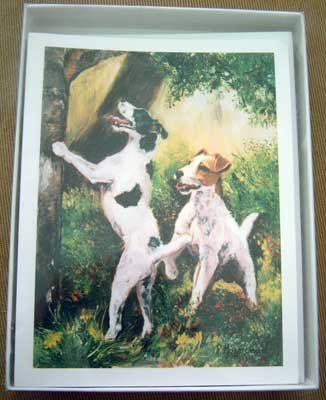 Jack Russell #3 Dog Notecards Envelopes Set - Maystead - NEW