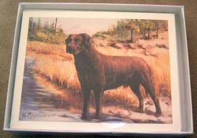 Labrador Retriever LAB #7 Dog Notecards Envelopes Set - Maystead - NEW