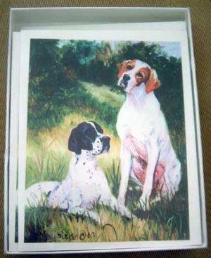 Pointer #3 Dog Notecards Envelopes Set - Maystead - NEW