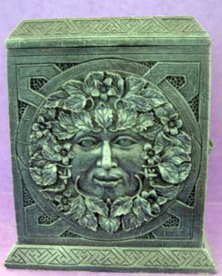 4 GREENMAN Stunning Pillar SILICONE Candle Soap Resin Plaster Cement MOLD