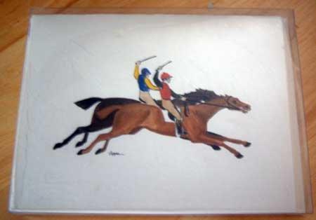 Horse Notecard Gift Set - Fur Children by Zeppa Studios - NIP