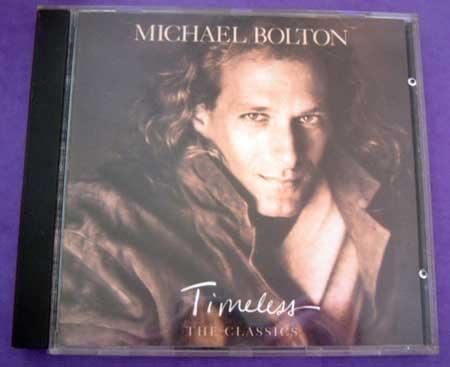 MUSIC CD Michael Bolton Timeless EUC