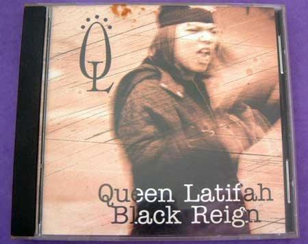 MUSIC CD Queen Latifah Black Reign EUC