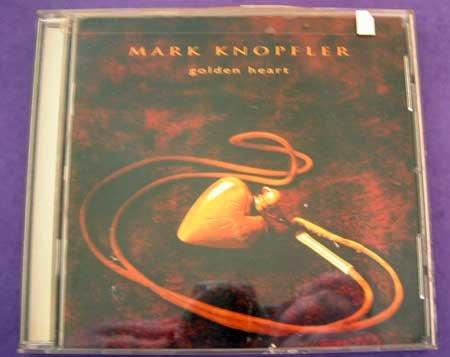 MUSIC CD Mark Knopfler Golden Heart EUC