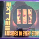 MUSIC CD Extreme 3 Sides to Every Story EUC
